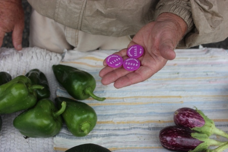 farmers veggie snaps tokens